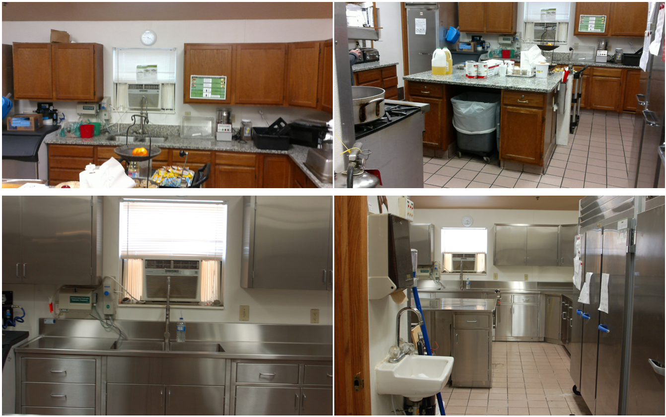 Complete Kitchen Remodel Custom Stainless Steel