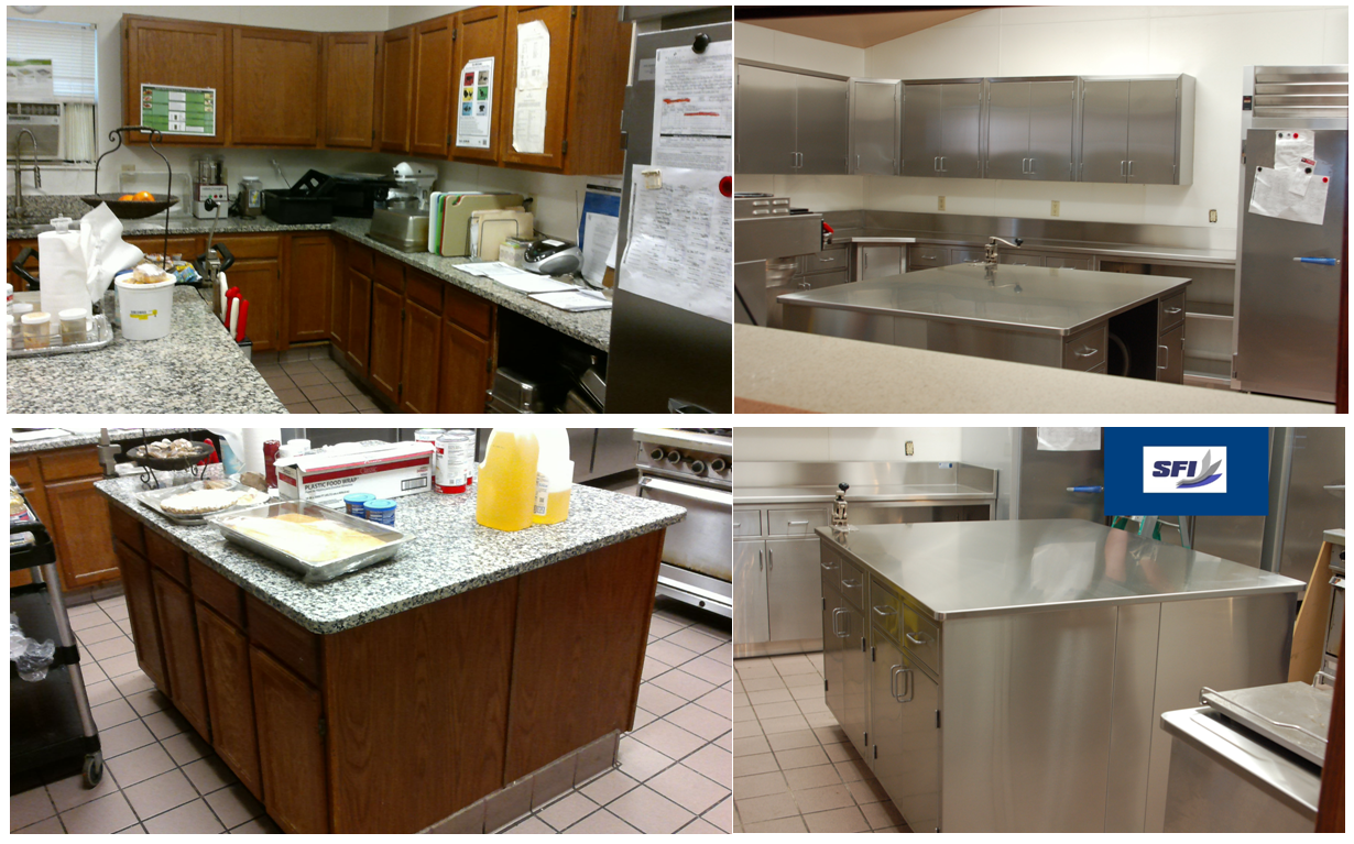 Complete Kitchen Remodel Custom Stainless Steel 2