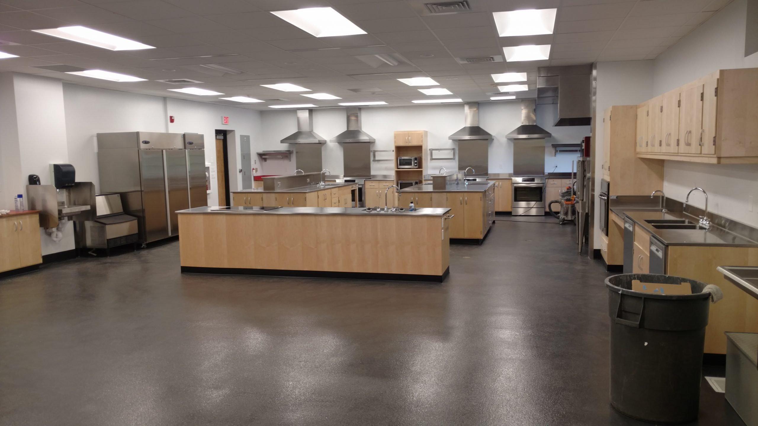 Custom Stainless Steel Food Lab Educational