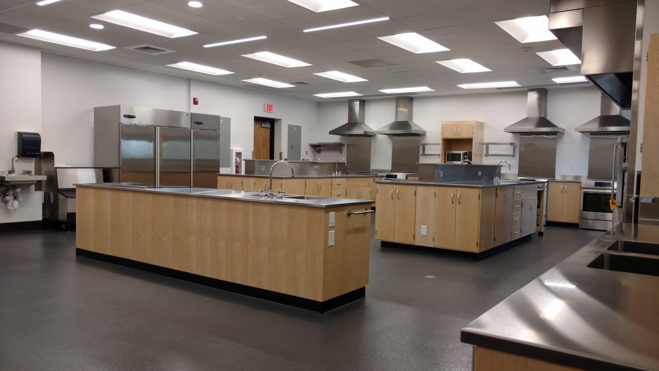 Custom Stainless Steel Food Lab