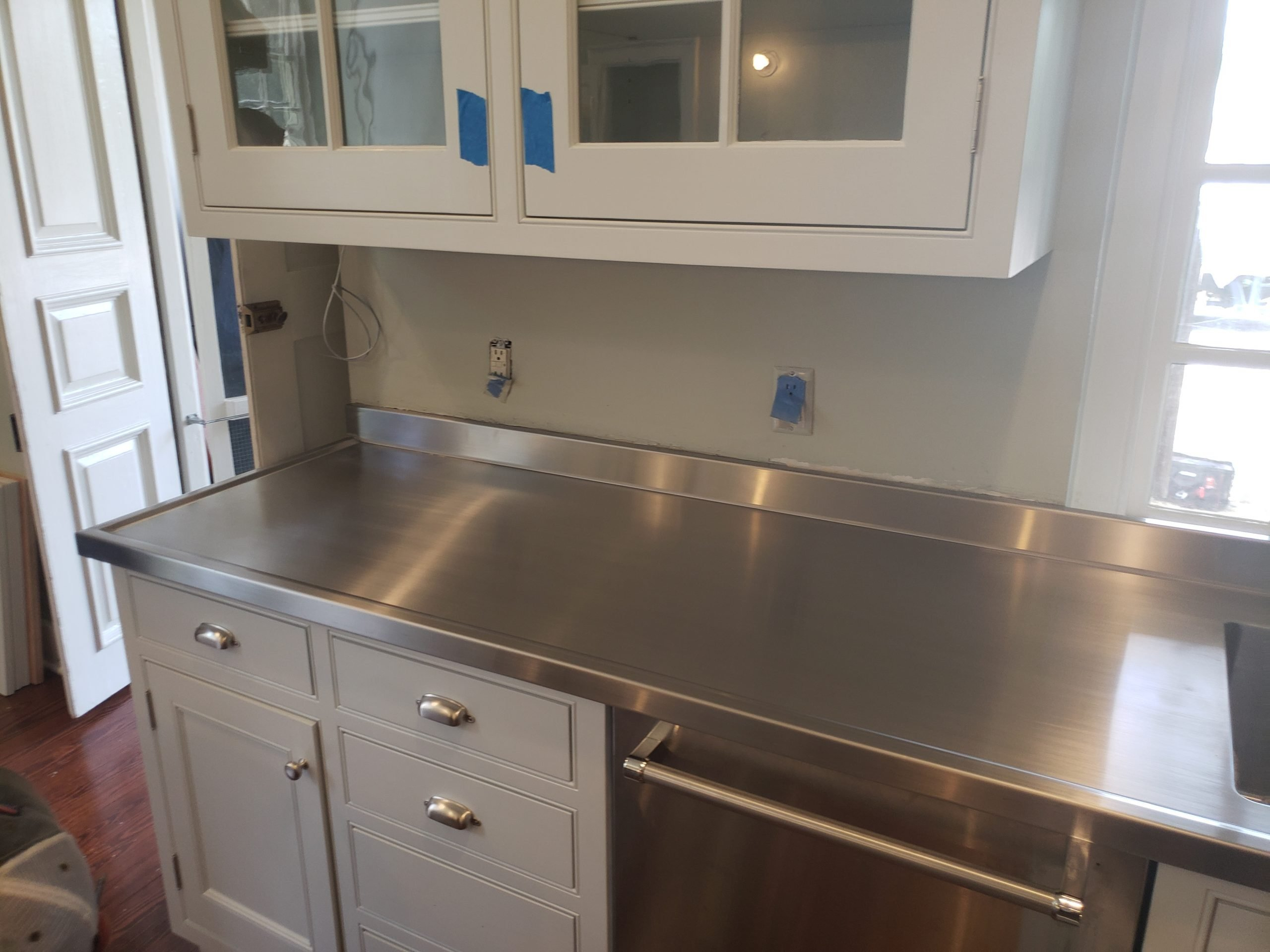 Custom Stainless Steel Residential Kitchen Top