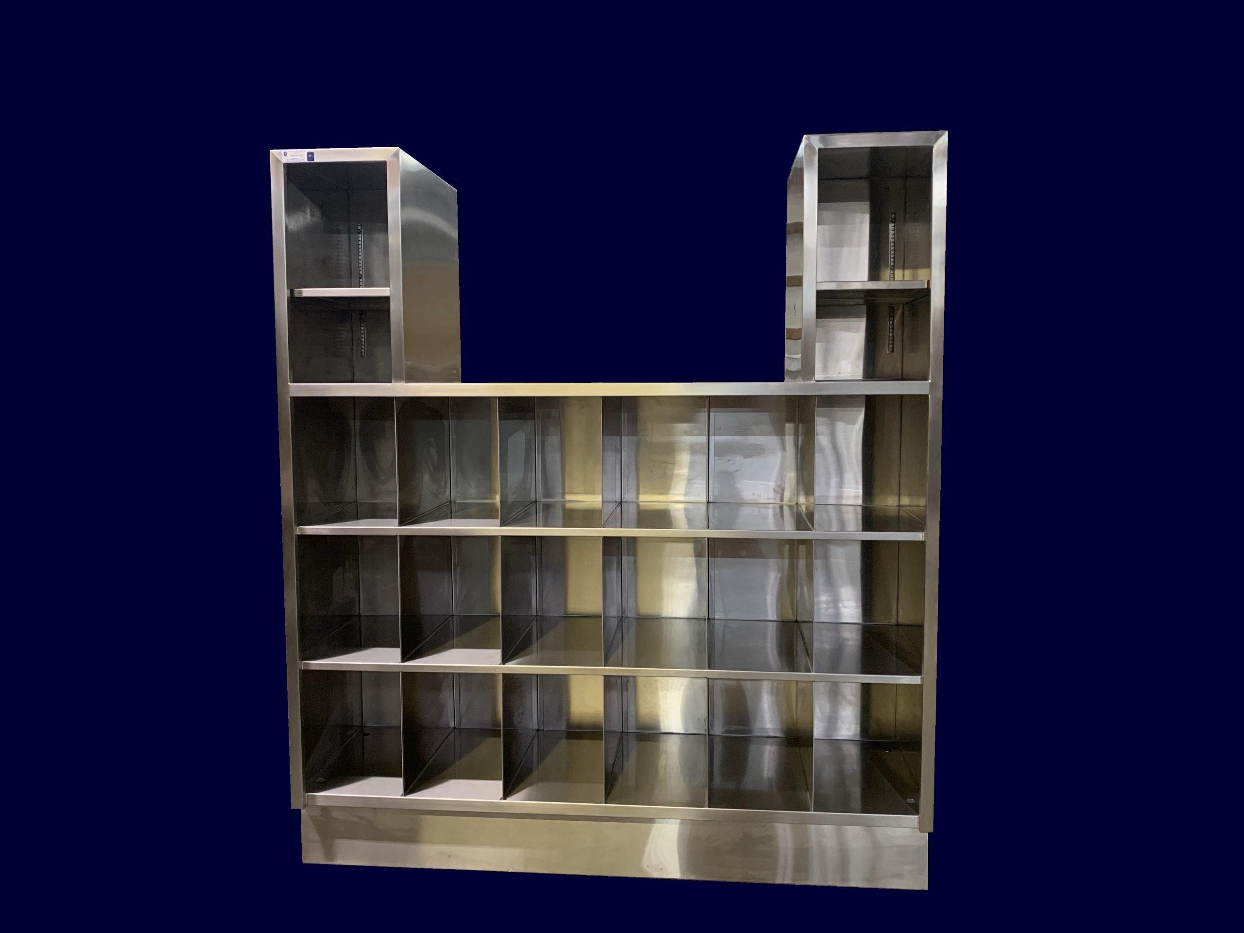 Custom Stainless Steel TV Cabinet