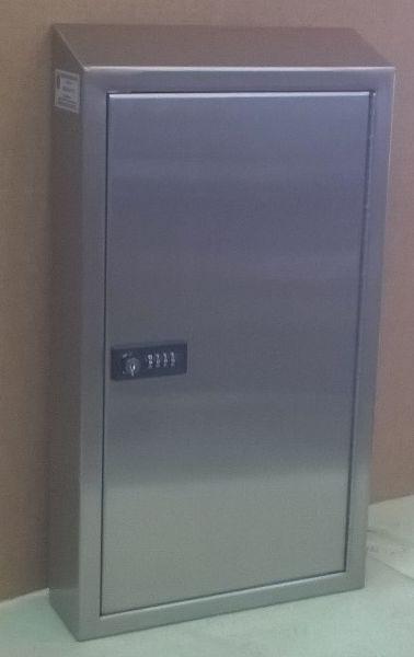 Lock Box 1 Custom Stainless Steel Lock Box with Combination Lock stainless steel key cabinet