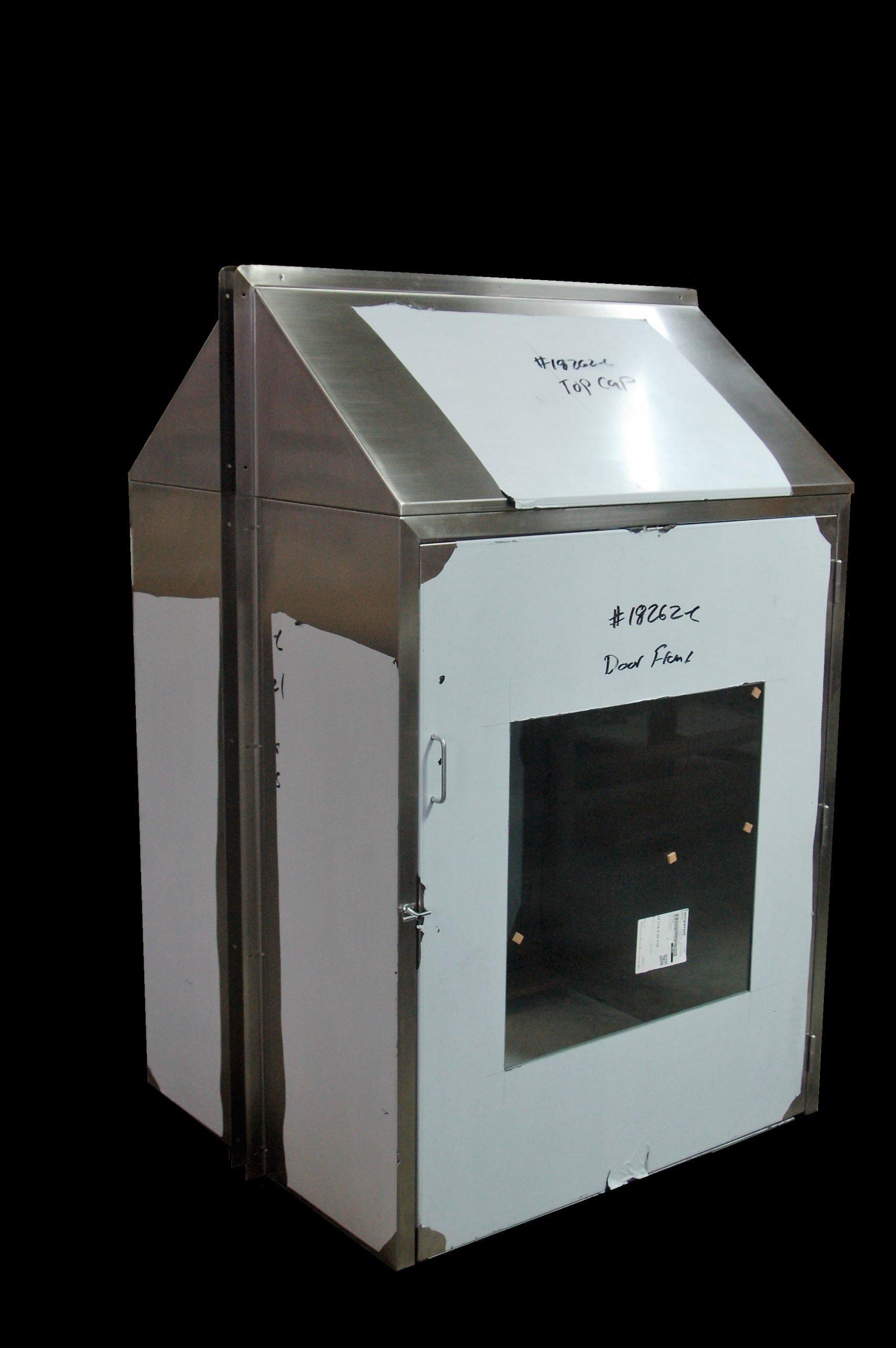 Custom Stainless Steel Pass-Thru Cabinet