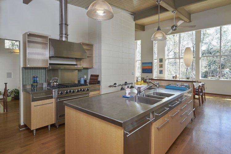 Kitchen Custom Stainless Steel Remodel