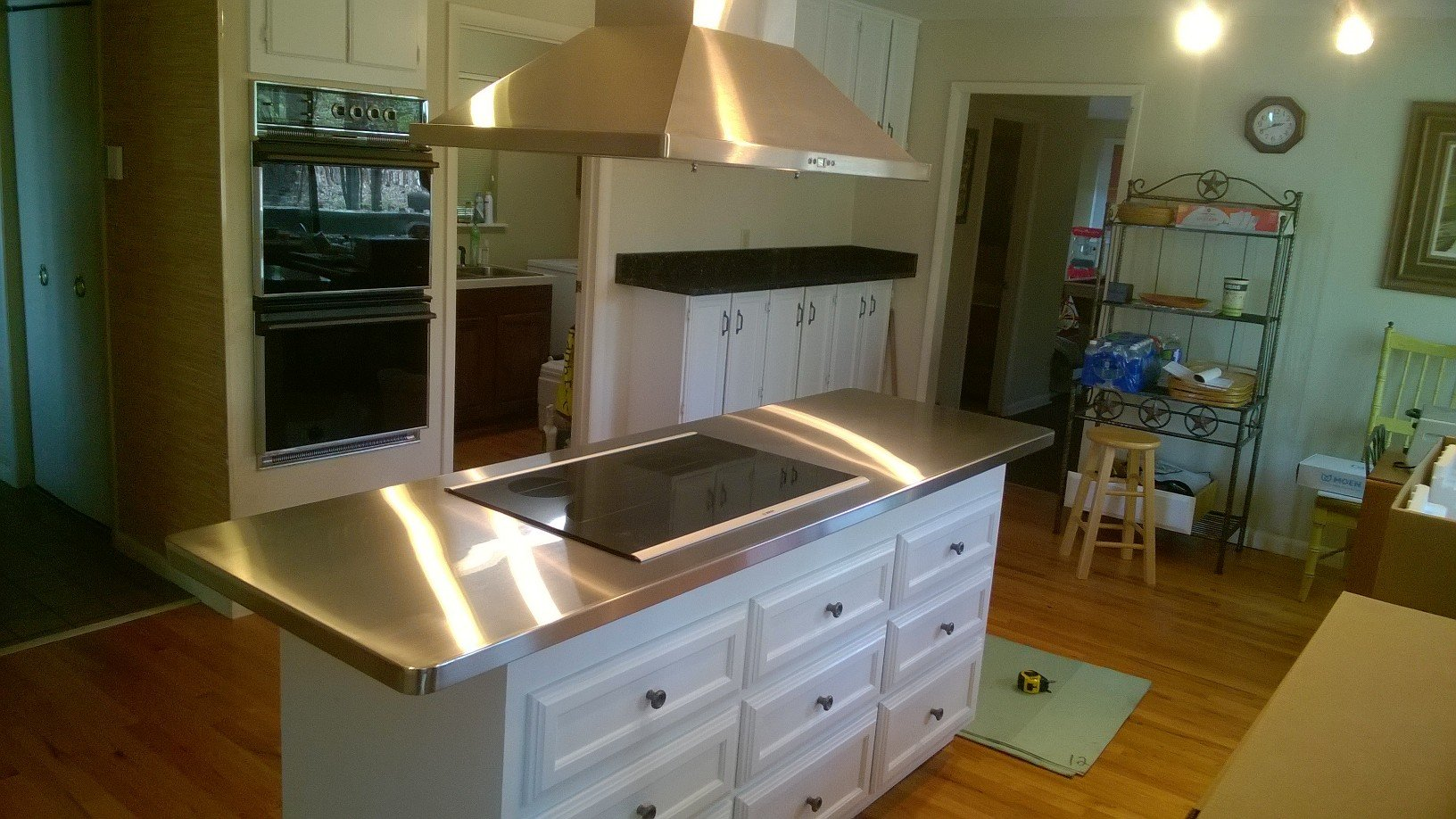 Residential Kitchen Stainless Steel Island Top