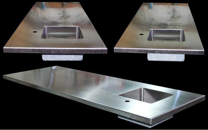 Sink Top Custom Stainless Steel