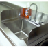 Stainless Steel Removable Splash Guard for Sinks