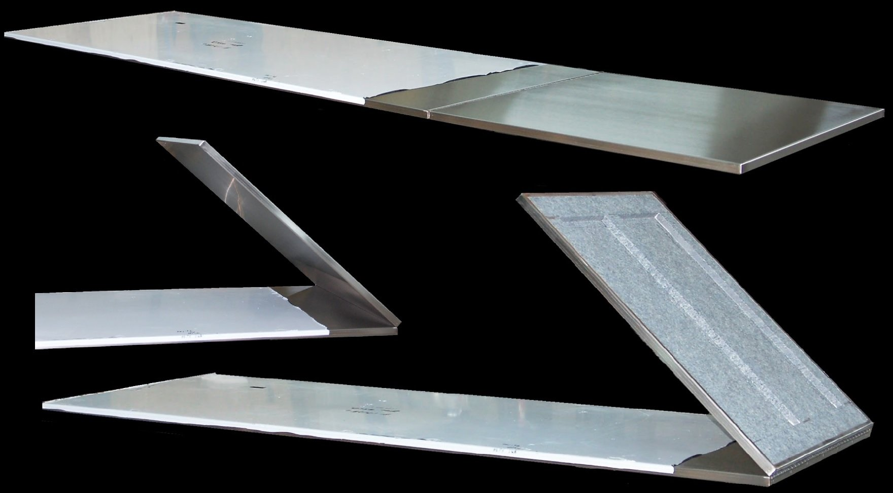 Custom Stainless Steel Flip Up Counter Top
