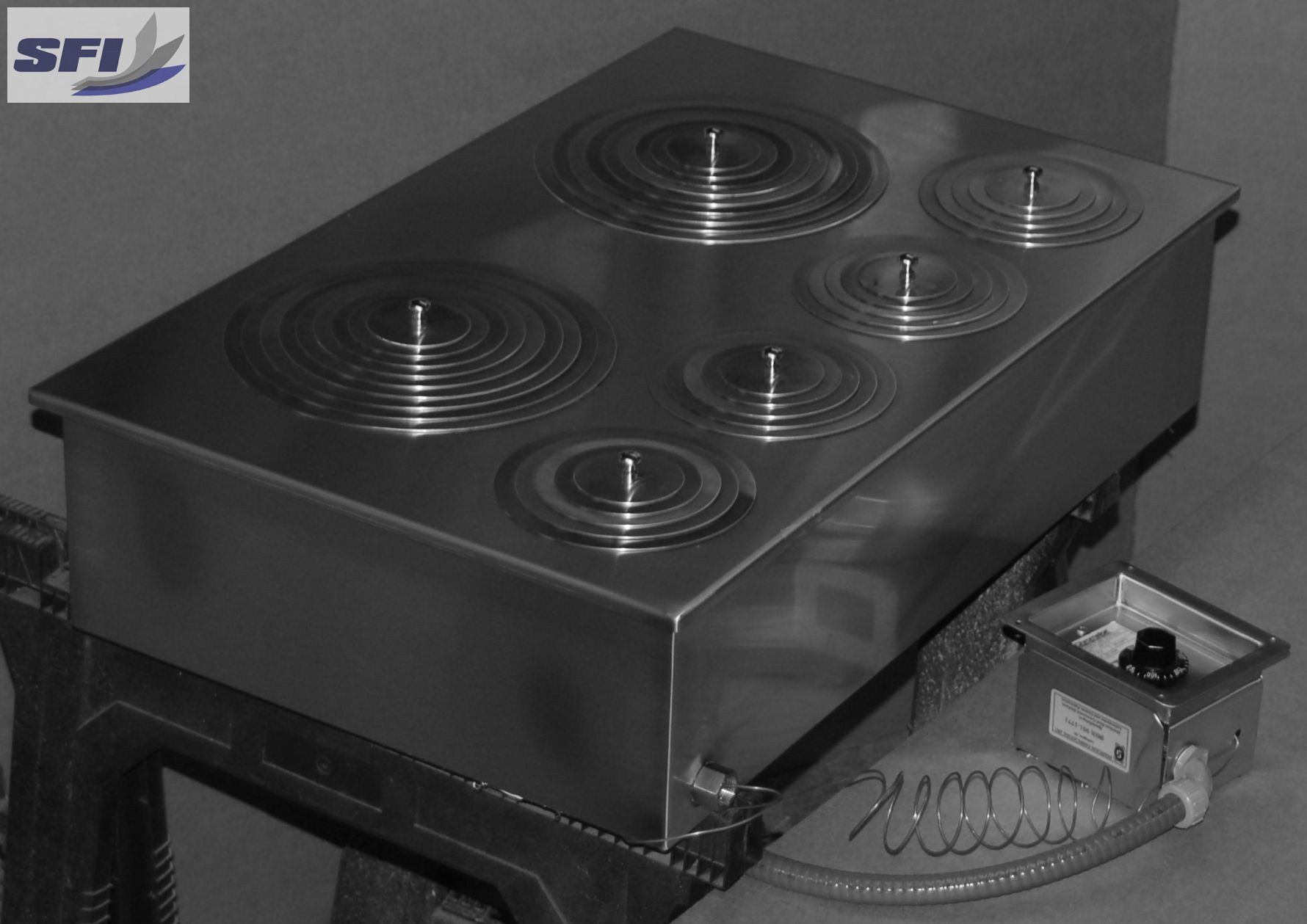 Electric-steam-baths electric stainless steel steam bath with control