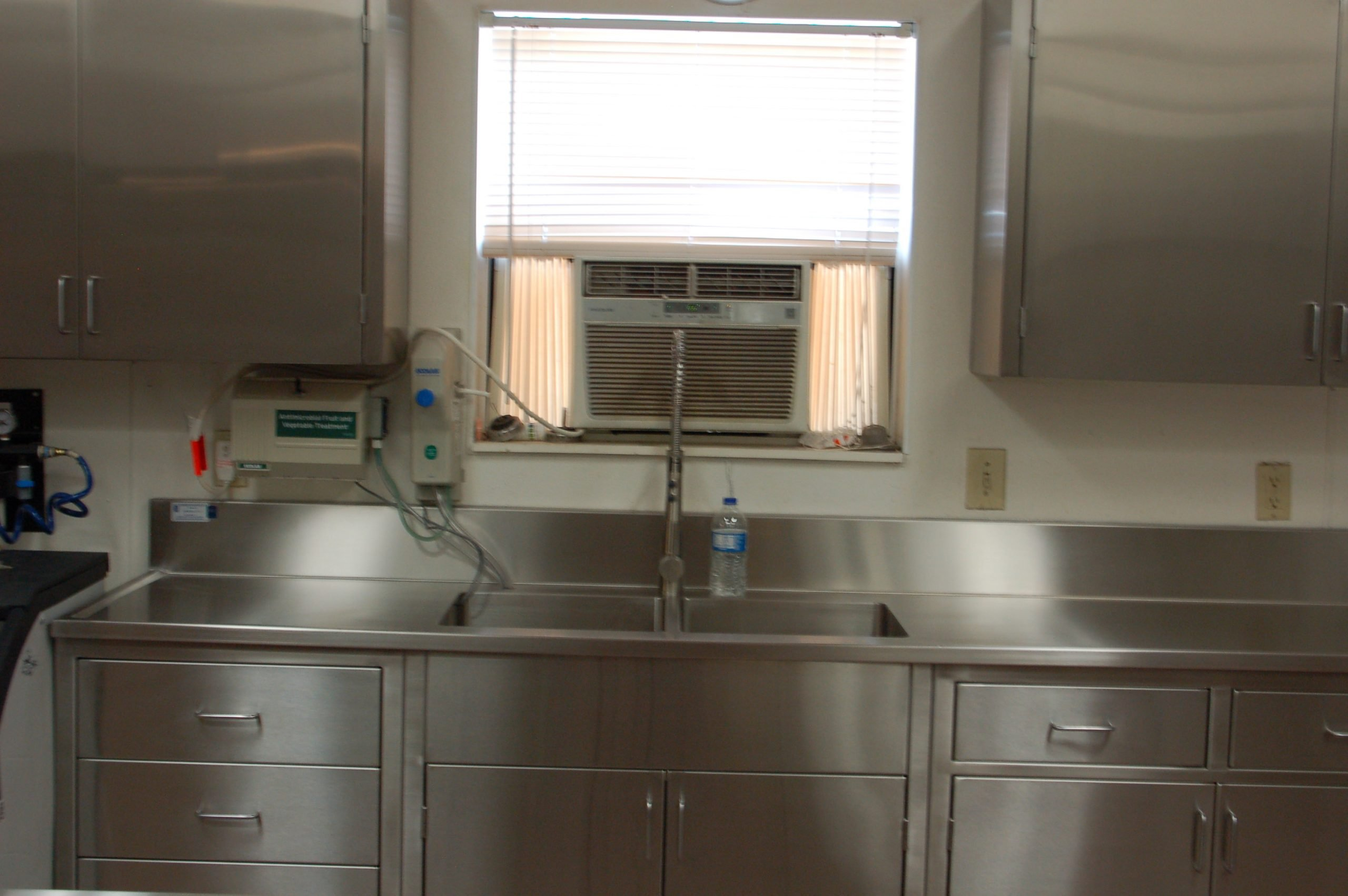 kitchen sink top and cabinets custom stainless steel