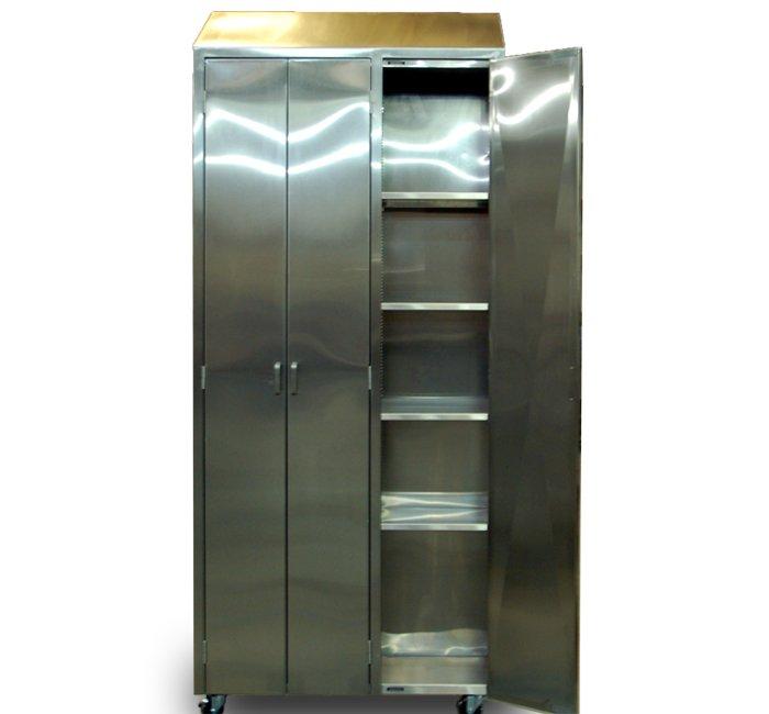 stainless steel floor case unit tall storage cabinet with adjustable shelves three door locker mobile